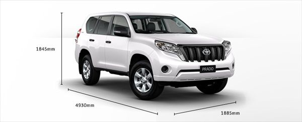"""2014 Toyota Land Cruiser Prado is a model that falls in the """"SUV"""" category, ideal for all those who love cars. 2014 Toyota Land Cruiser Prado is a beautiful design and is available In the next versions: GX, GXL, VX and Kakadu. Each of these versions"""