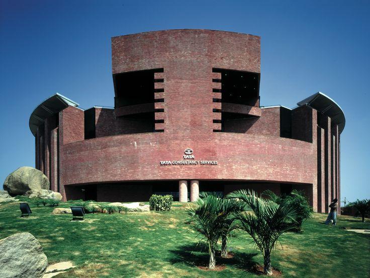 TATA Consultancy Service Building   Hydrabad, India   Mario Botta   photo by Enrico Cano