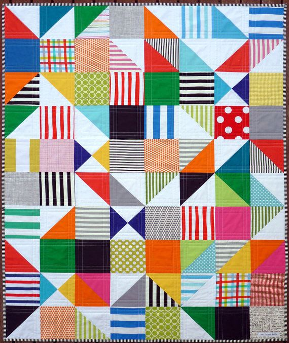 60 best quilts for kids images on Pinterest | Baby quilts ... : modern kids quilts - Adamdwight.com