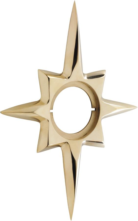 Starburst Escutcheon By Rejuvenation Hardware