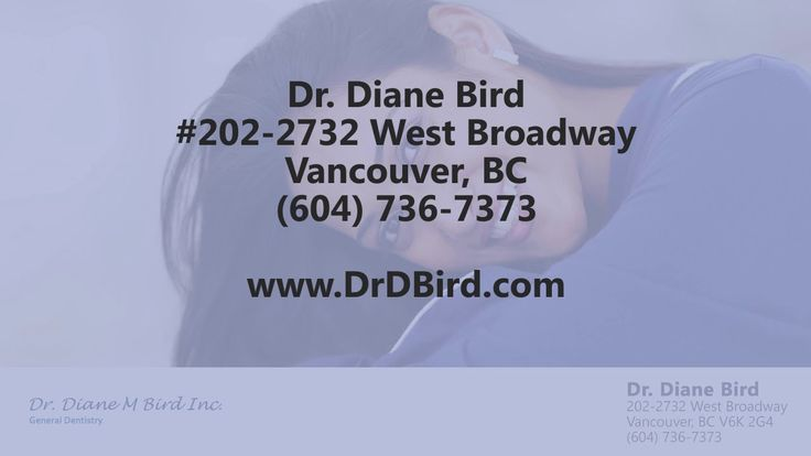 Dr. Diane Bird - REVIEWS - Vancouver, BC Dentist Reviews Reviewed: Dr. Diane Bird is a top reviewed dental clinic in Vancouver, BC. This video shows some of the excellent reviews and testimonials that have been offered by their happy patients. (Real reviews by real patients) https://www.youtube.com/watch?v=n7E4Slp9wq4