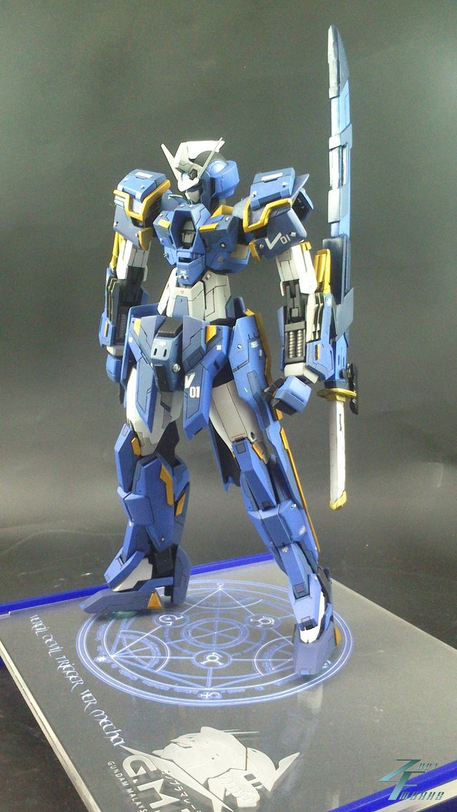 GUNDAM GUY: 1/100 Vergil's Devil Trigger - Custom Build