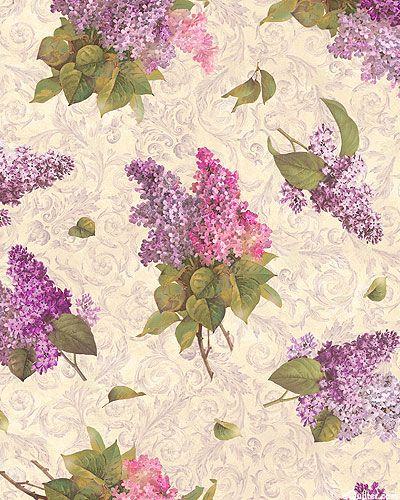 Chateau - Lilac Nosegays - Cream
