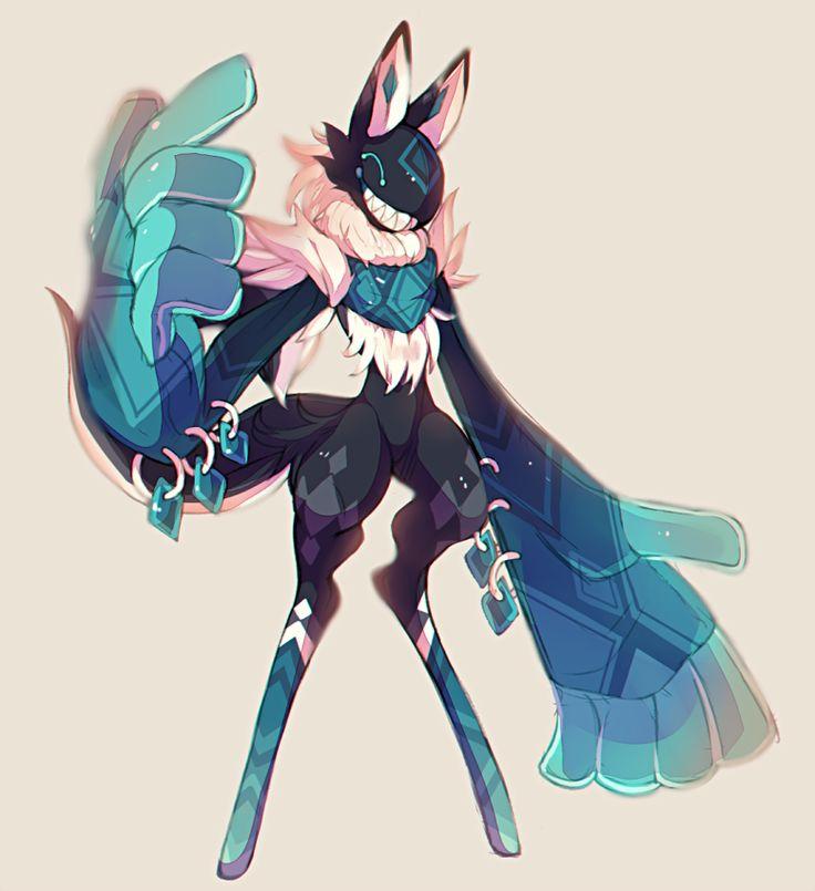 Anime Characters Animals : Scarfox trade by dragonpunk Арт pinterest