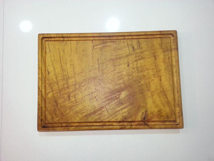 Custom order solid cutting board. 46x31 cm