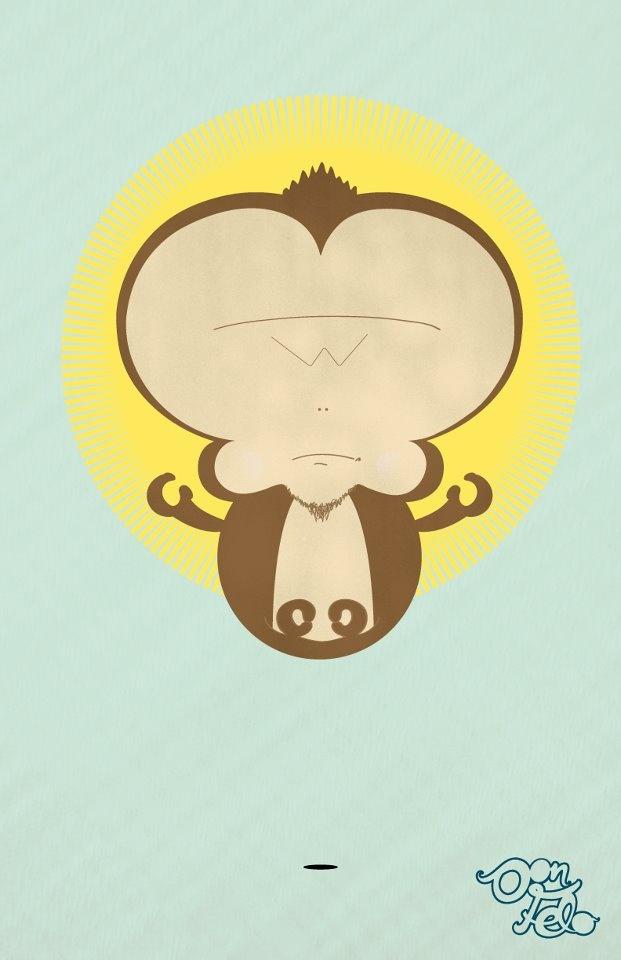 Monkeyndu ... Alcanzando el tantra o buscando la manera perfecta de pelar una banana.