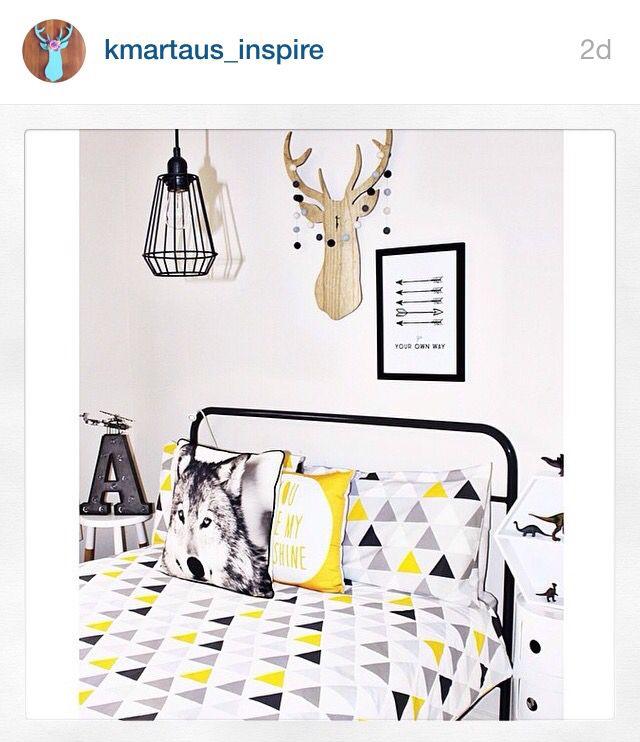 Kmart Inspired Bedroom