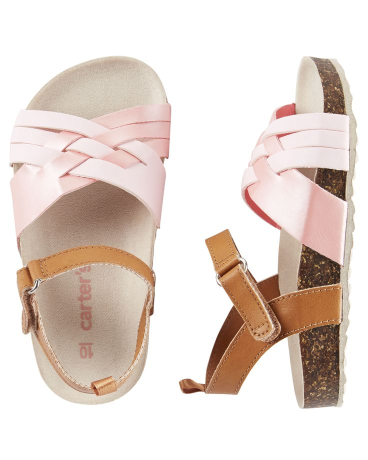 Toddler Girl Carter's Strappy Sandals | OshKosh.com