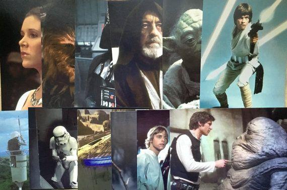 Star Wars Post Cards Darth Vader Princess by BarnabyGlenVintage