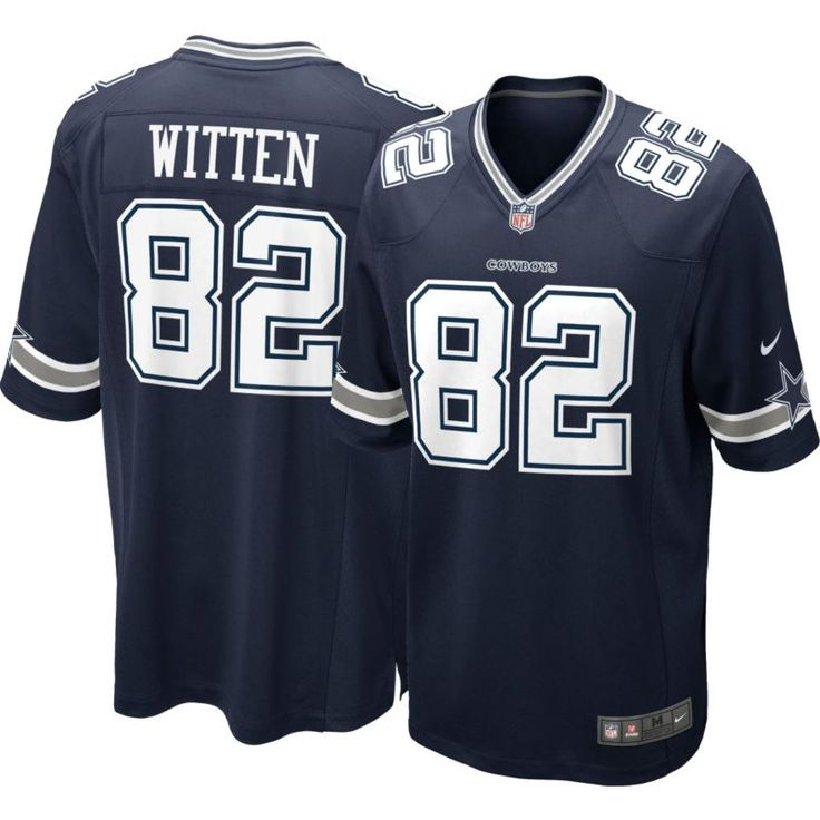 Nike Men's Home Game Jersey Dallas Jason Witten #82, Size: Medium, Team