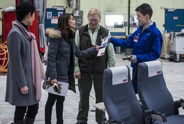 Princess Marie arrives in Greenland for autism conference