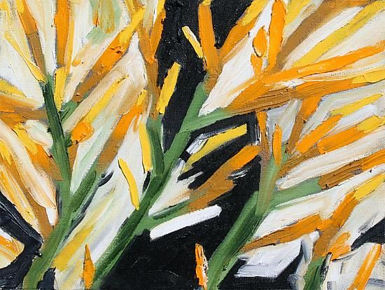Rabbit Brush by Tracy Weil: Oil Painting available at www.artfulhome.com