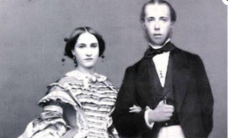 Maximiliano y Carlota.