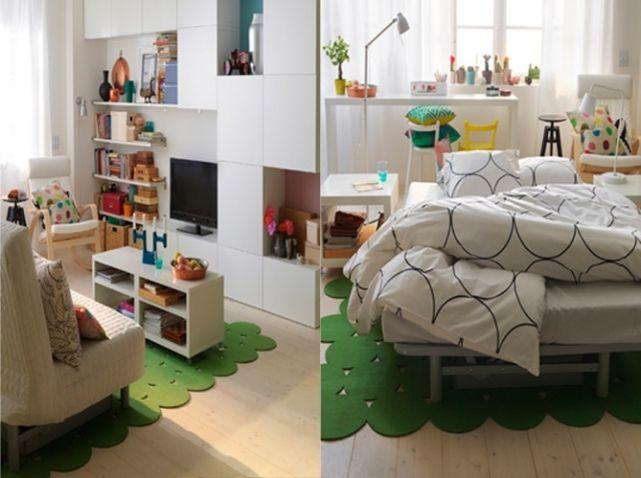 17 meilleures id es propos de canap lit ikea sur pinterest canap cosy ikea terrasse et for Petite cuisine pour studio ikea
