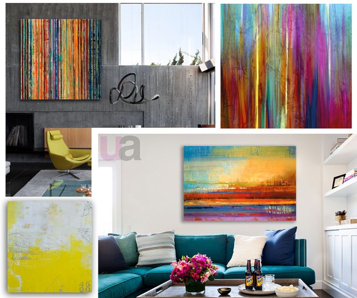 Colourful and affordable new canvases from United Artworks