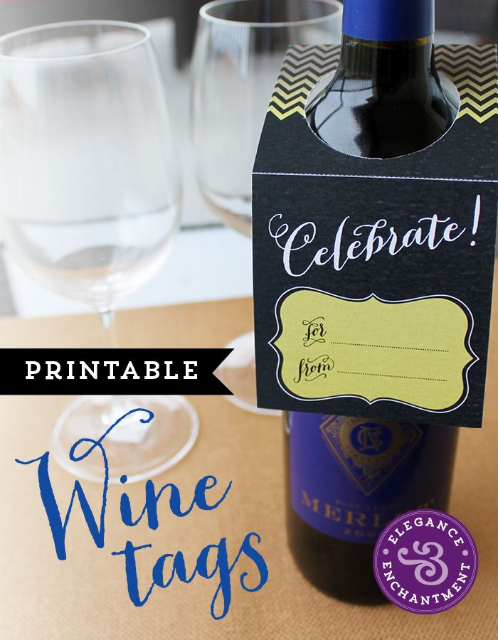 Elegance and Enchantment Wine Tags5