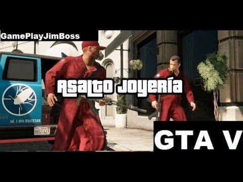 GTA V  Asalto a la Joyería GamePlay PS3
