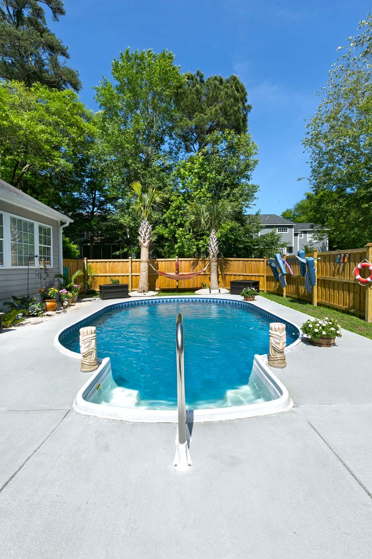 Home Swimming Pools On Ground best 25+ oval pool ideas only on pinterest | oval above ground