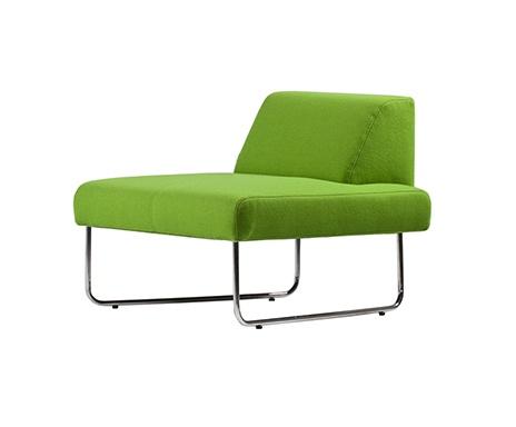 Iker Design - Loungefåtölj Plumm - grön
