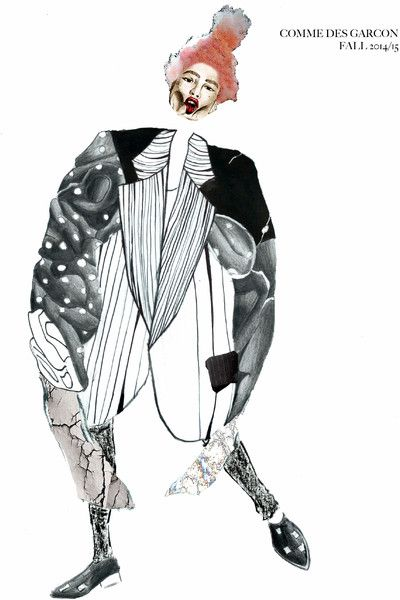 2015 First Year Illustration | University of Westminster's Visual Portfolio | BoF Careers | The Business of Fashion