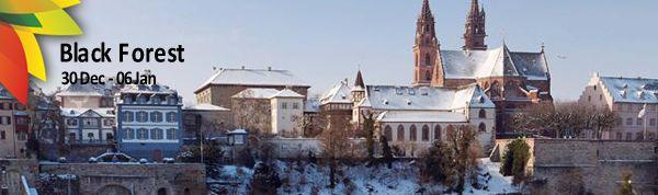 Starting from €655|  Visiting: Freiburg, Strasbourg, Heidelberg, Baden-Baden, Black Forest, Lake Titisee, Triberg, Europa Park, Basel, Colmar & The Rhine Falls In Schaffhausen