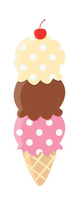 Cute Clipart ❤ Ice Cream  Sorvete - Minus