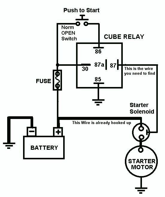Vehicle Horn Circuit
