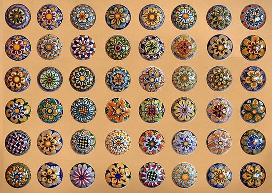 decorative ceramic door knobs 1