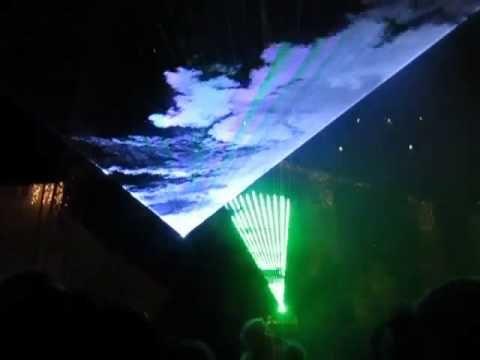 Revelion 2016 - SIBIU - Show de lasere si tunuri de confetti - Piata Mare