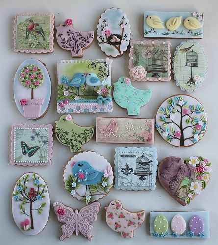 Spring inspired cookies | Flickr - Photo Sharing!