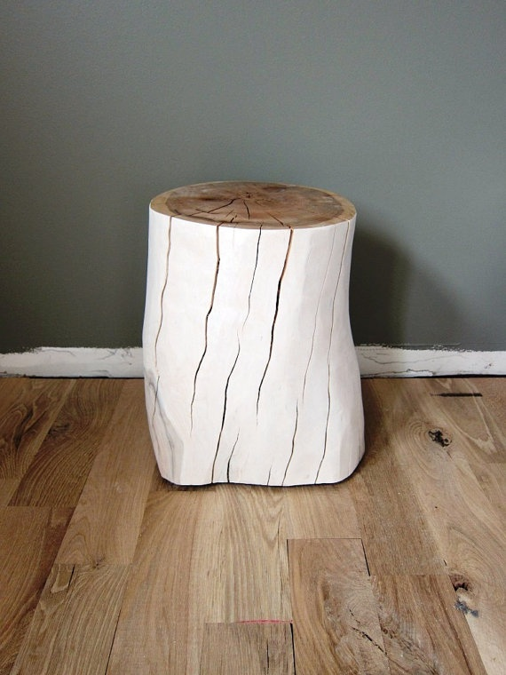 Tree stump side table - from the Elizabeth Element, by Kristen KruchowskiDiy 'Generation, Diy Crafts, Diy Tables, Diy Decor, Holz Diy
