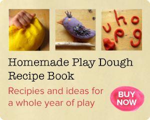 No salt play dough recipe :: taste safe, gluten free sensory play - NurtureStore