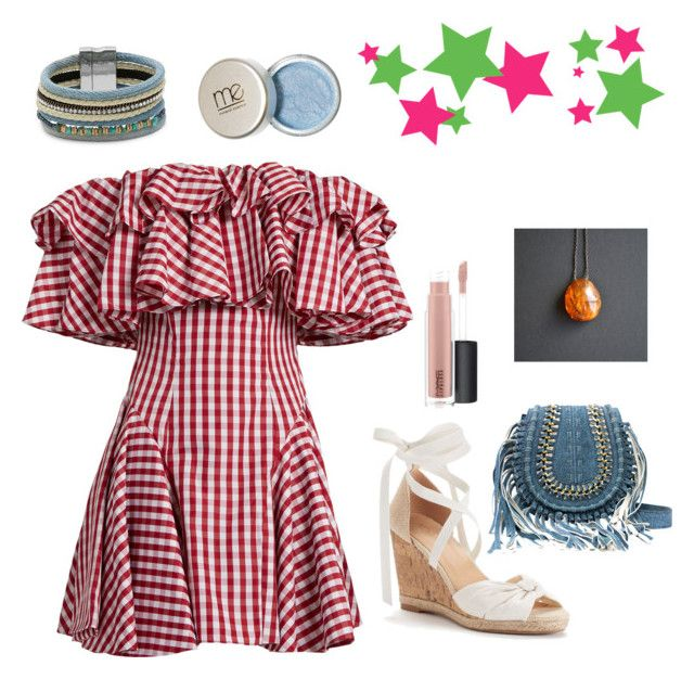 """🎀"" by isamacario ❤ liked on Polyvore featuring House of Holland, Retrò, MAC Cosmetics and Design Lab"