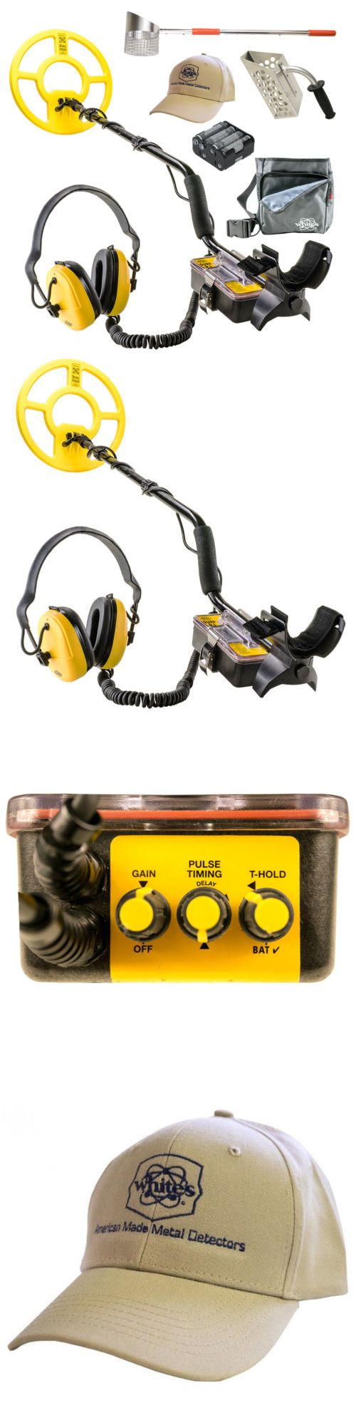 Metal Detectors: Whites Surfmaster Pi Dual Field Geared Up Bundle -> BUY IT NOW ONLY: $823 on eBay!