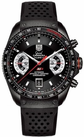 Amazon.com: TAG Heuer Men's CAV518B.FT6016 Grand Carrera Automatic Chronograph Watch: Tag Heuer: Watches