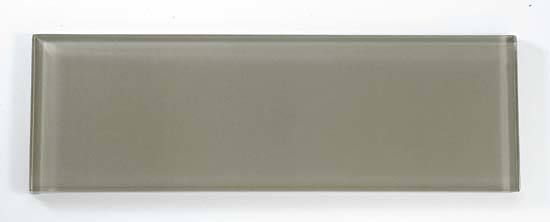 The 4 x 12 glass subway tile collection C14 Silver Spring from Bella Glass Tiles.  For a more modern look compared to the 3 x 6 subway.