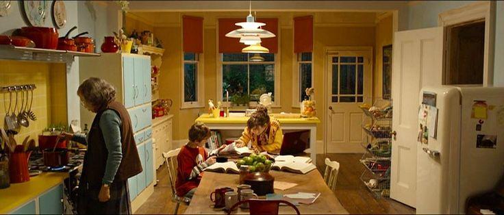 The colorful kitchen in the Paddington movie | hookedonhouses.net