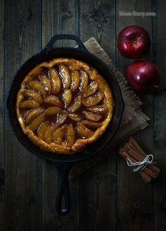Французский яблочный пирог Тарт Татен (Tarte Tatin) рецепт