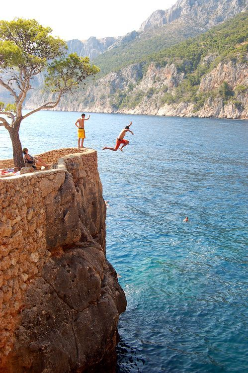 Hvar, Croatia - i MUST get over my fear of heights and do this in Croatia