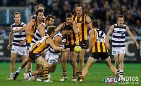 #AFL 2012 Rd 19 - #Hawthorn v Geelong