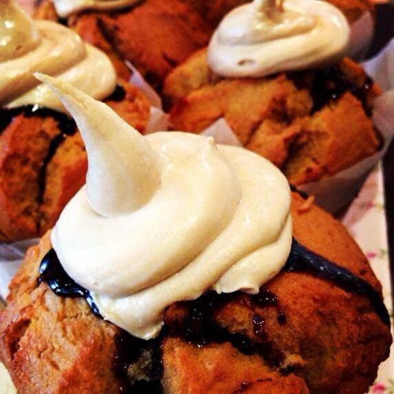 Creme Brulle Muffins