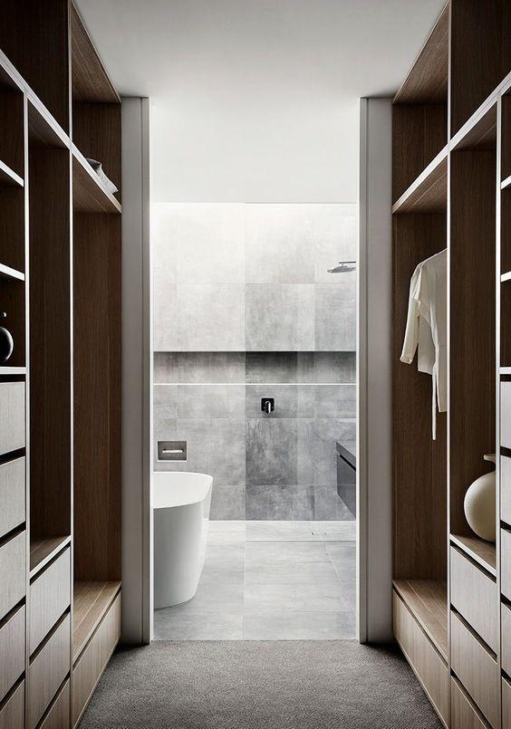 Salle de bain dans la chambre : conseils déco – Artsdeco.org