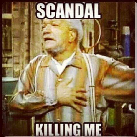 Scandal fans have to wait until the ABC show's next season to immerse themselves in all things Olivia Pope, Fitz and the gang. In the meantime, there are always memes and social media chatter.