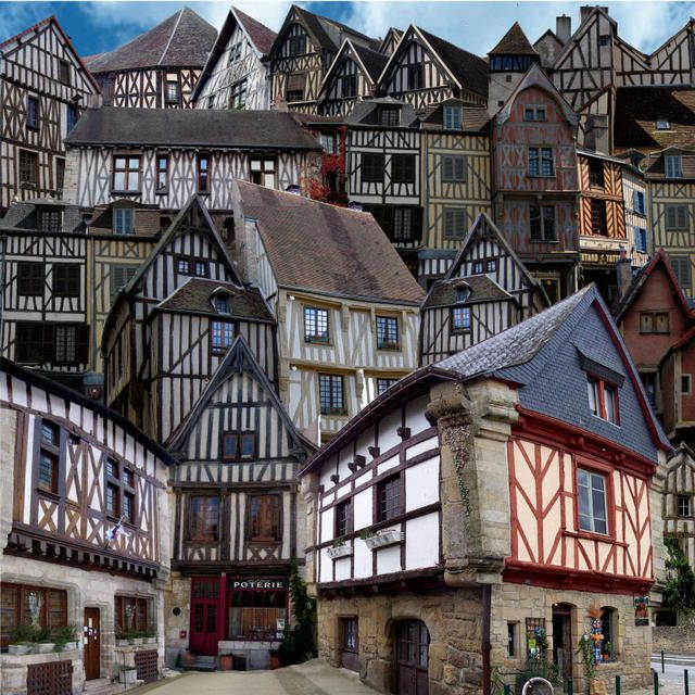 28.Village à Colombages- Marie Montard
