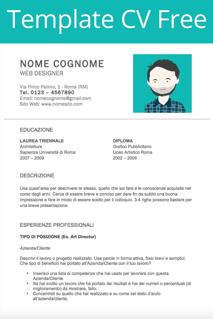 17 best images about curriculum vitae