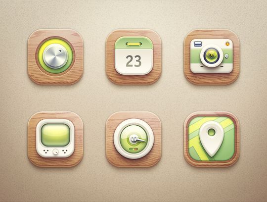 Icons collection   2012-2013 by Mike , via Behance