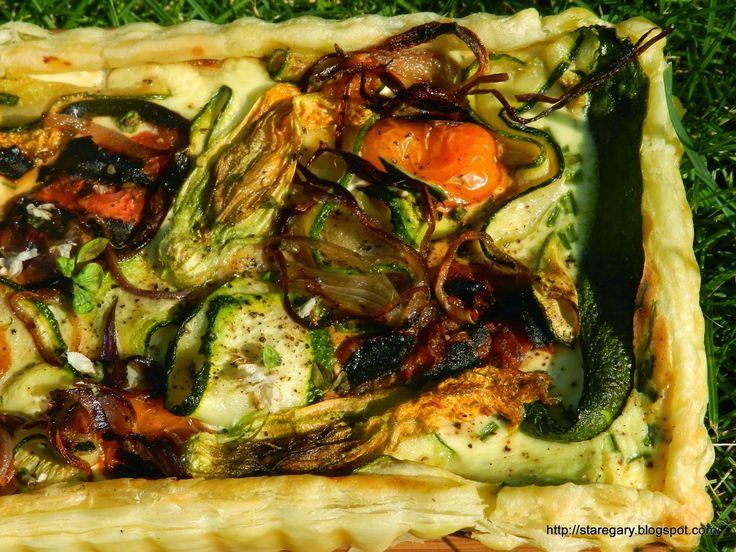 Stare Gary: Tarta z grillowanymi warzywami