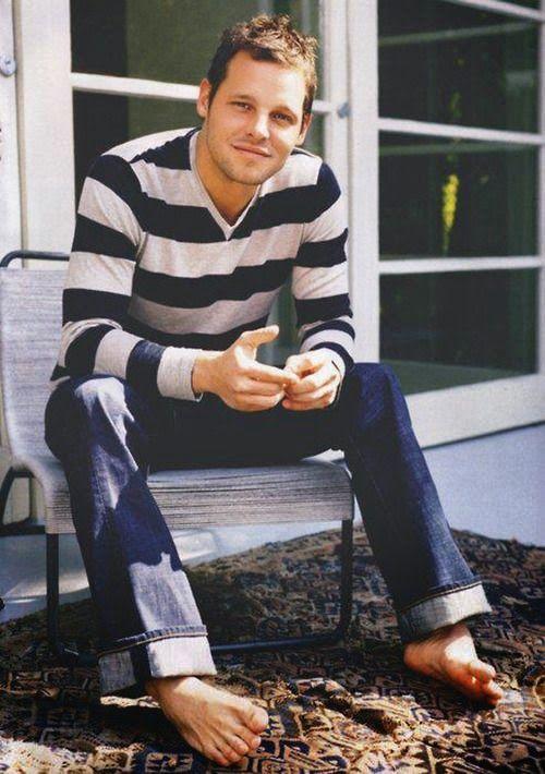 Justin Chambers | Male Celeb Feet | Pinterest | Studs ...