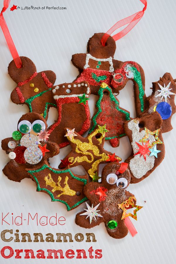 how to make cinnamon ornaments for christmas tree
