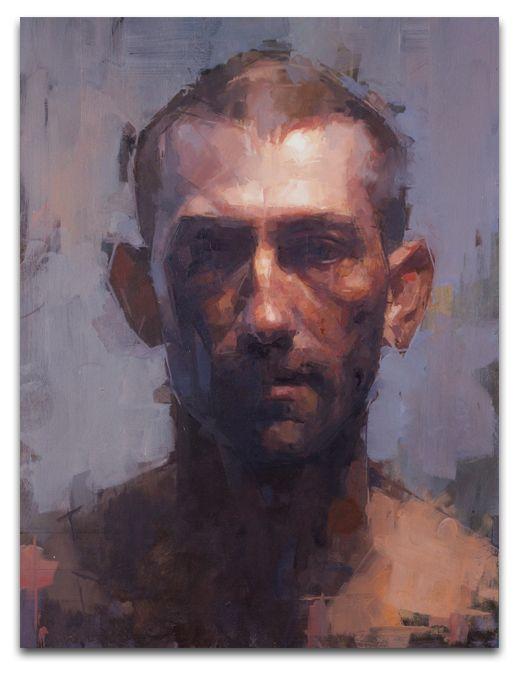 Daniel Hughes paints these amazing portraits. I love them all! - Dean